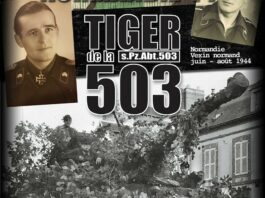Panzers Normandie 44 Serie - schwere Panzer-Abteilung 503 - TIGER de la 503